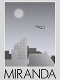 Miranda Retro Travel Posters