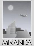 Miranda Retro Travel Poster Posters