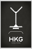 HKG Hong Kong Airport Posters