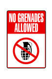 Jersey Shore No Grenades Allowed TV Print