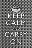 Keep Calm and Carry On Zebra Prints