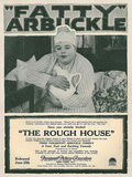 The Rough House Movie Roscoe Fatty Arbukle Buster Keaton Print