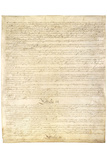 U.S. Constitution Page 3 Prints