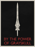 By The Power of Grayskull Retro Posters