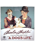 A Dog's Life Movie Charlie Chaplin Edna Purviance Posters