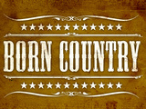 Proud to be Born Country Posters