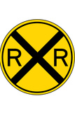 Railroad Crossing Posters