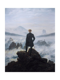 Caspar Friedrich Wanderer Above the Sea of Fog Photo
