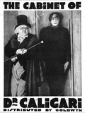 The Cabinet of Dr Caligari Movie Werner Krauss Art