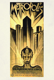 Metropolis Movie Fritz Lang アートポスター
