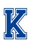 Varsity Letter K Make Your Own Banner Affischer