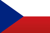Czech Republic National Flag Poster