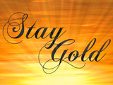 Stay Gold Ponyboy Poster