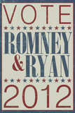 Vote Romney & Ryan 2012 Posters