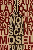 Wine Locales Prints