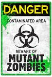 Danger Mutant Zombies Prints