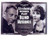 Blind Husbands Movie Sam De Grasse Francelia Billington Posters