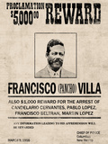 Pancho Villa Wanted Posters
