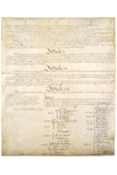 U.S. Constitution Page 4 Posters