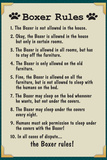 Boxer House Rules Prints