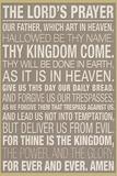 The Lord's Prayer Plakát
