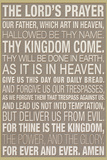 The Lord's Prayer Julisteet