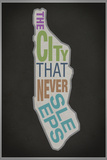 The City That Never Sleeps Posters