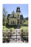 Victorian House and Fence 1 (Boulder, Co) Photographic Print by Henri Silberman