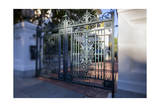 Ornate Metal Gate, San Francisco, CA (Pacific Heights) Photographic Print by Henri Silberman