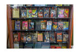 Paperback Pulp Fiction Books (Bookstore Display) Photographic Print by Henri Silberman