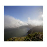 Marin Headlands Landscape (Fog) Photographic Print by Henri Silberman