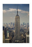 View of Empire State Building, Looking South (New York City Midtown Manhattan Iconic) Photographic Print by Henri Silberman