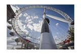 The London Eye, Close-Up (Ferris Wheel, Landmark, Millenium Wheel) Photographic Print by Henri Silberman
