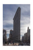 Flat Iron Building, New York (Landmark Architecture, Sunset) Photographic Print by Henri Silberman