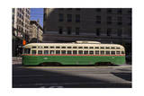 Streetcar on Market Stree, San Francisco, CA (F Line) Photographic Print by Henri Silberman