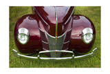 Vintage Car, Close-Up (Front Grille) Photographic Print by Henri Silberman
