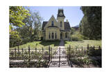 Victorian House and Fence 2 (Boulder, Co) Photographic Print by Henri Silberman