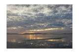 Alameda Shore at Sunset (San Francisco Bay Landscape) Photographic Print by Henri Silberman