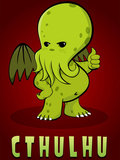 Cthulhu Creature Posters