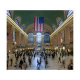 Grand Central Station Interior 3 (Public Spaces, New York City) Photographic Print by Henri Silberman