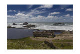 Sutro Baths Ruins, San Francisco, CA 2 (Seashore Landmark) Photographic Print by Henri Silberman