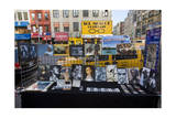 Street Vendor Stand Displays and Storefronts New York City (Sixth Avenue and 14th Street) Photographic Print by Henri Silberman