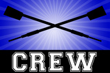 Crew Oars Print