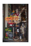 Cigar Store Window, Oakland, CA (Neon Sign) Photographic Print by Henri Silberman