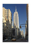 Empire State Building, New York (View Up Fifth Avenue) Photographic Print by Henri Silberman