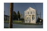 Mason's Building, Pittsboro, NC (Southern Architecture) Photographic Print by Henri Silberman