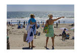 Stinson Beach Bathers (Northern California Shore) Photographic Print by Henri Silberman