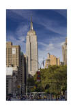 Empire State Building, New York (View from 23rd Street and Broadway, Afternoon) Photographic Print by Henri Silberman