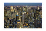 New York City, Top View 6 (Evening Fifth Avenue) Photographic Print by Henri Silberman