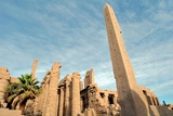 Temple of Karnak Obelisk Thutmose 1 and Hypostyle Photographic Print by P. Eoche